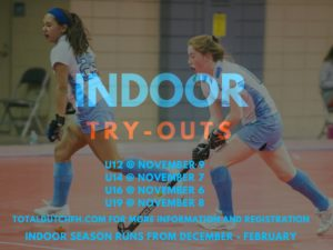 indoor try outs