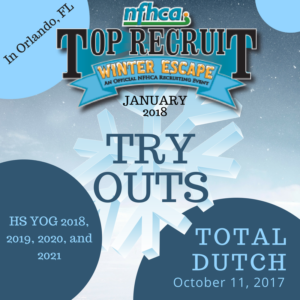 winter escape try outs