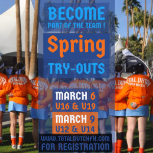 Spring Try-Outs